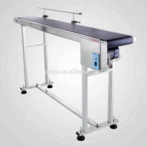 Power Slider Bed PVC Belt Electric Conveyor Automatic Code Machine