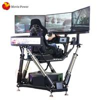 Real track simulation 9d vr driving simulator racing car game machine equipment
