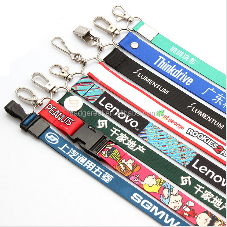 Suppliers Custom lanyard metal clip for conference