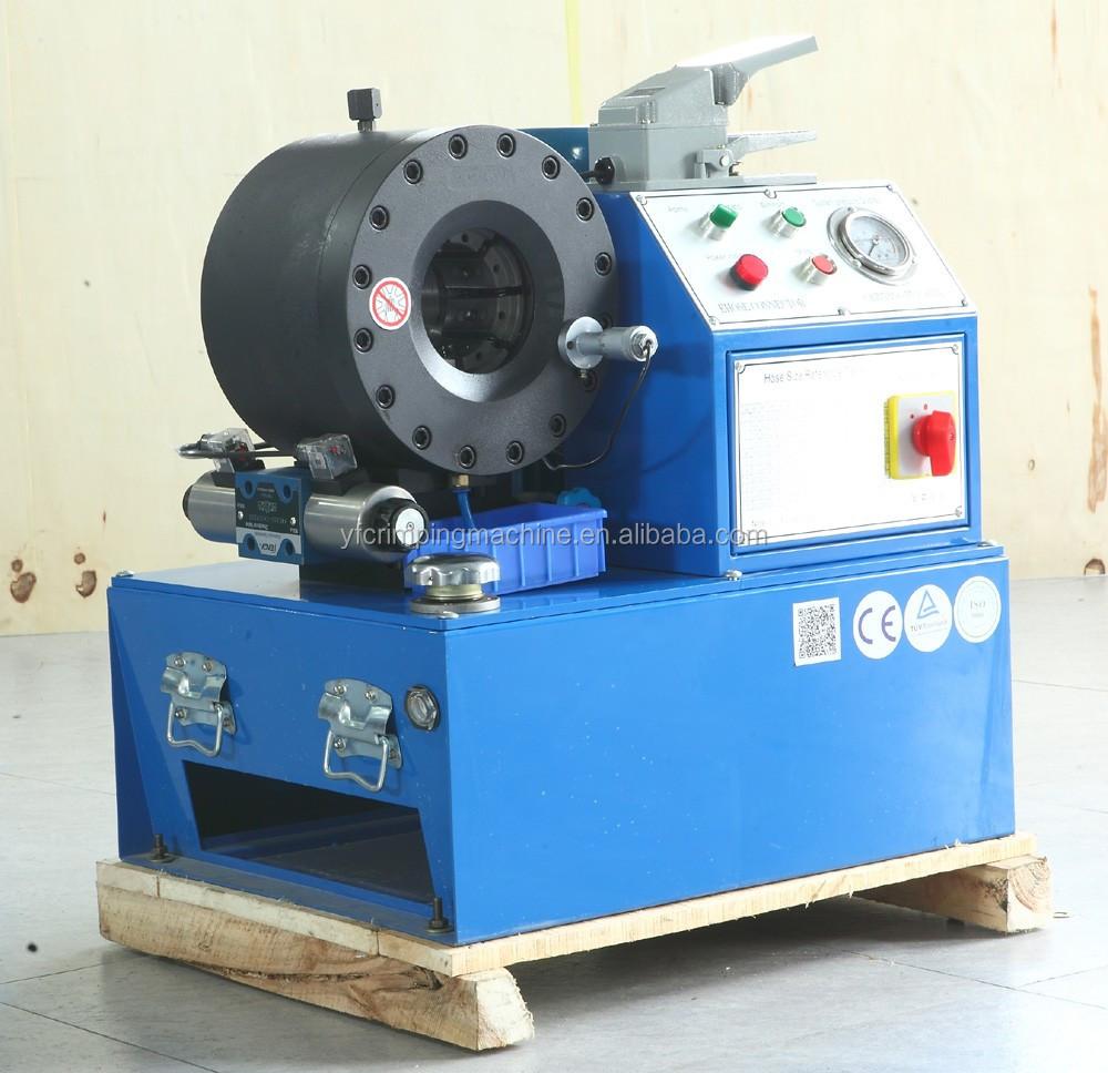 hydraulic hose swaging machine