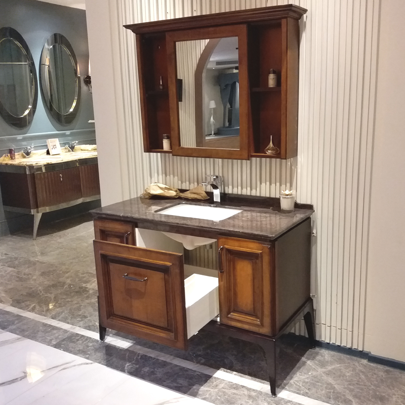 2017 new arrival design bathroom furniture