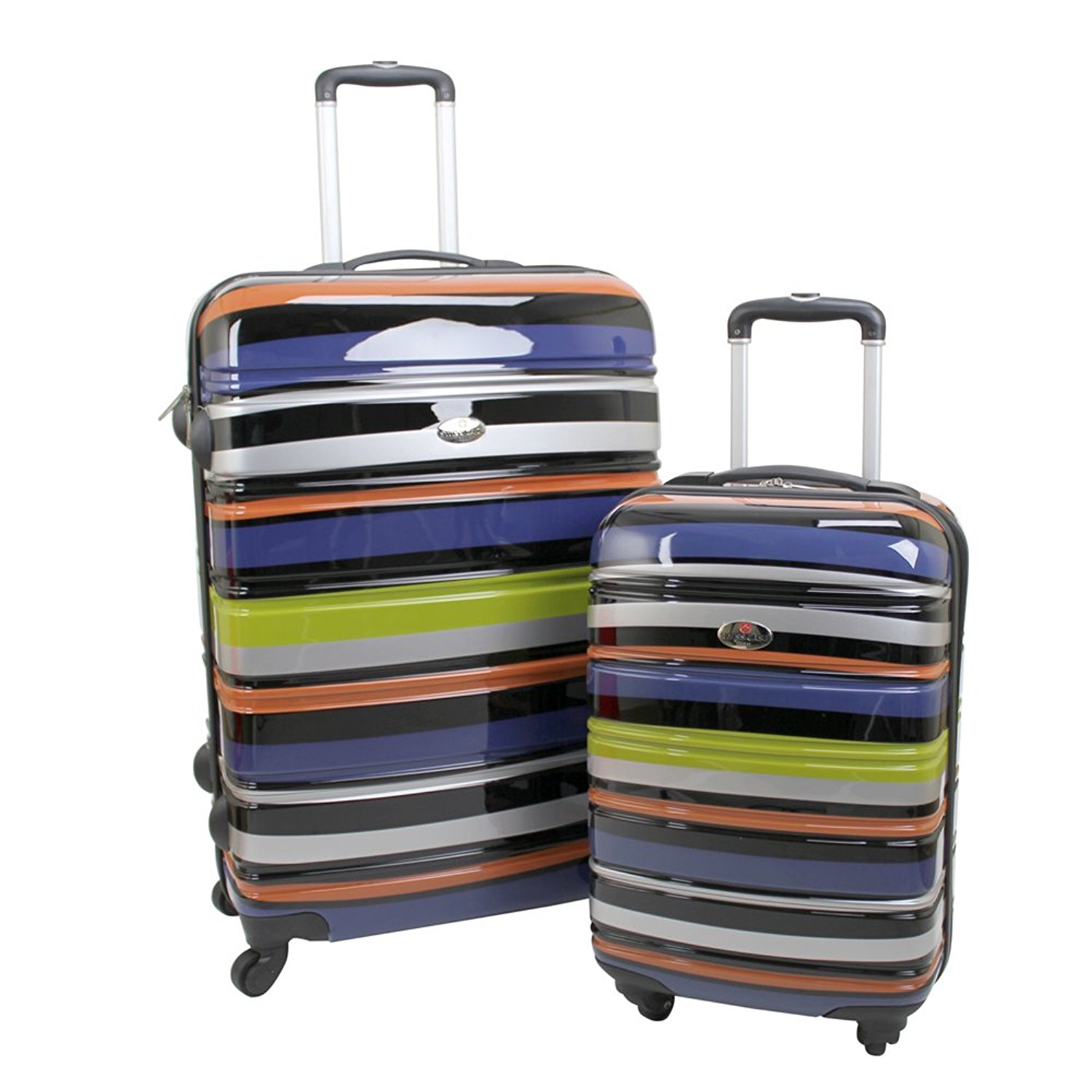 3 pcs Luggage Trolley Case Set Grey SPECIAL GIFT Only by eight24hours