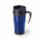 Eco-friendly 16oz custom double wall plastic thermal coffee tumbler mug with handle