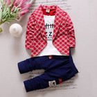 Toddler Baby Boy Formal Clothing Wear Fashion Set Baby children's suits Cotton Boys Clothes 2PCS Children's Infant Clothings