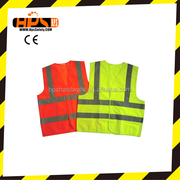 Hangzhou supplier standard reflective safety vest for global market