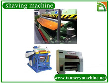 leather shaving processing trimming machine
