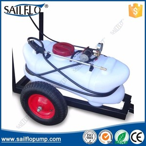 Sailflo 60L ATV electric tractor mounted agricultrual boom sprayers with tank