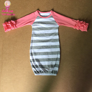 e5e33bcab Icing Ruffle Raglan Night Gowns