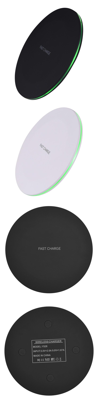 Schneller Universalhandystandplatz powermat drahtloses Ladegerät für Samsung für iphone, für drahtloses Ladegerät des iphone Qi