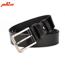 Wholesale Fashion Pin Buckle Vegetable Tanned Leather Mens Belt Trouser Belt