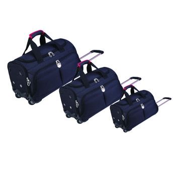 Expandable trolley bag rolling duffel spinner luggage travel bag on wheels 2874626c61f8f