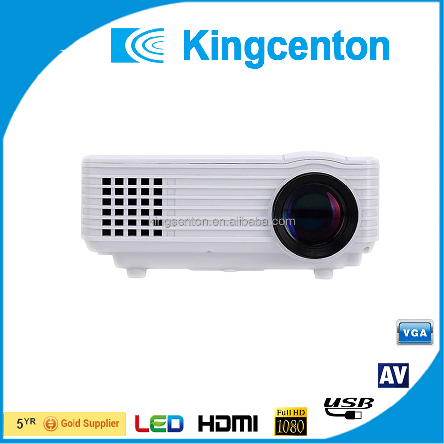 High brightness cheap mini projector led projector suppot 1080p HDMI
