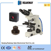 Factory wholesaling High speed USB3.0 5.0M Digital Lab Clinic Compound Darkfield Biological Microscope