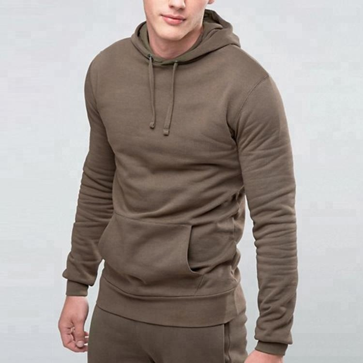 Oem Service Pullover High Quality Blank Sweat Suits Wholesale Men Sweat With Pocket Blank Jogging Suits
