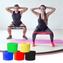 Body Workout Hot Selling Fitness Equipment Latex Mini 5 Resistance Bands Loop Workout