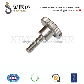Serrated Knurled Decorative Head Thumb Screws For Fixing Glass Buy