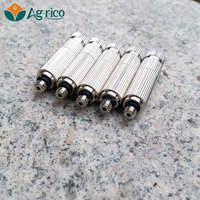 stainless steel nozzle connector Fog system. Mist cooling. fog misting system, mist capping