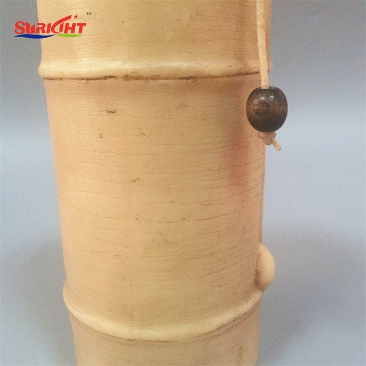 Bamboo Handmade Craft Art Shaped Scented Pillar Candle