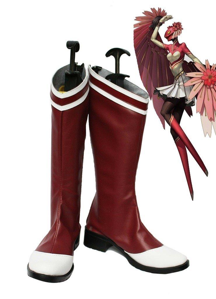 Shin Megami Tensei Persona 4 Konohana Sakuya Cosplay Shoes Boots Custom Made