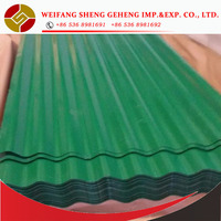 Cured Steel Roof Tile