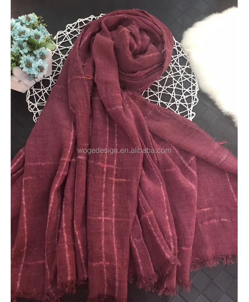New trendy tie dye Mexico tribal design shoulder shawl scarfs echarpe feminine fantasy cotton tartan winter muffler