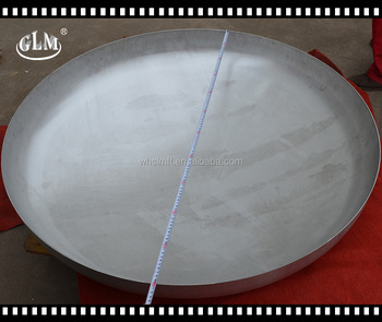 alibaba website 1100* 3mm cheap price for stainless steel cold dishes head