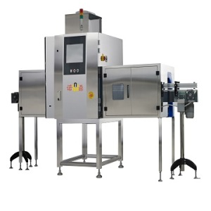 Automatic X-ray inspection machine/system for glass bottles
