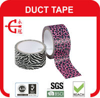colorful carton sealing waterproof duct tape cloth tape