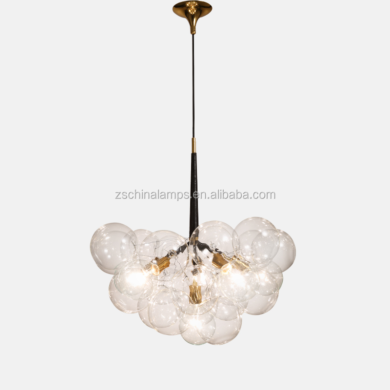 Nordic Style Classic Design Pendant Lamp Clear Glass Ball Pendant ...