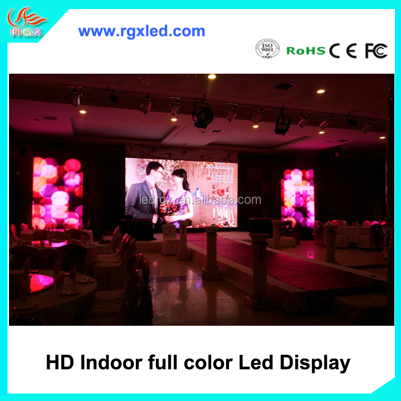 Shenzhen project Korea P3.91 P4.81 indoor HD expo LED display