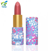 Guangdong packaging products wholesale paper lipstick tube , paper lip balm tube packaging box