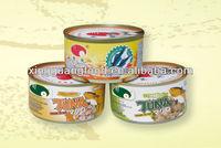 frozen yellowfin tuna loin in can rich in fish protein
