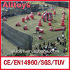 giant inflatable paintball gun games bunker field,inflatable paintball bunker