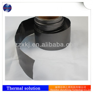 High thermal conductivity low thermal resistance properties of natural graphite sheet