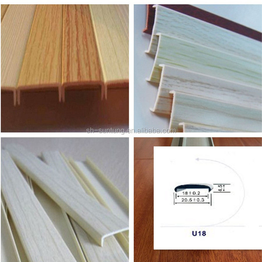 Rubber pvc abs pmma edge banding edging trim manufacturer for Abs trimming kitchen cabinets