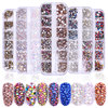 MS122 Nail Art Rhinestones Crystals Non Hot Fix Rhinestones for DIY Nails Art Decoration Aquamarine Color