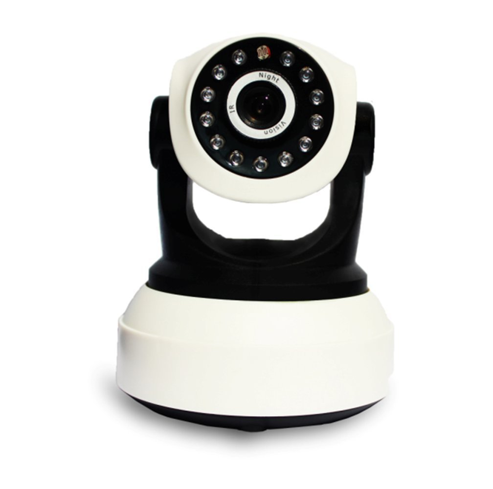 Wireless Camera,Shufua Advanced Two-way Audio Chatting Baby Camera Home Surveillance Camera Wireless IP Camera ,Support Infrared Night Vision ,Motion Detection,PTZ Control