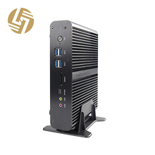 Intel Dual Core i7 7500U Desktop Computer kaby lake Fanless Mini pc