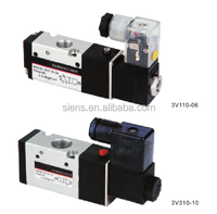 inside guide type pneumatic foot solenoid control valve