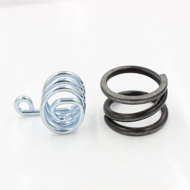 customized stainless flat spiral torsion spring/metal spring clip/extension spring