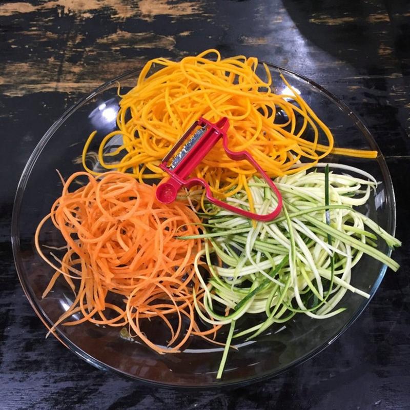 Kitchen Tools Magic 3pcs Peeler Set Slicer Shredder Fruit Cutter Hot Sale