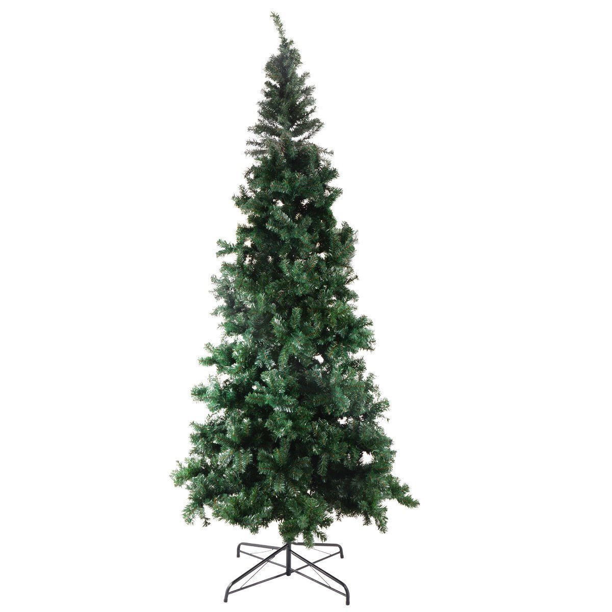cbd9aa8f172 Get Quotations · Trees Feet Tall Christmas Tree Stand Holiday Season Indoor  Outdoor Green Artificial Christmas Trees Size 9.8