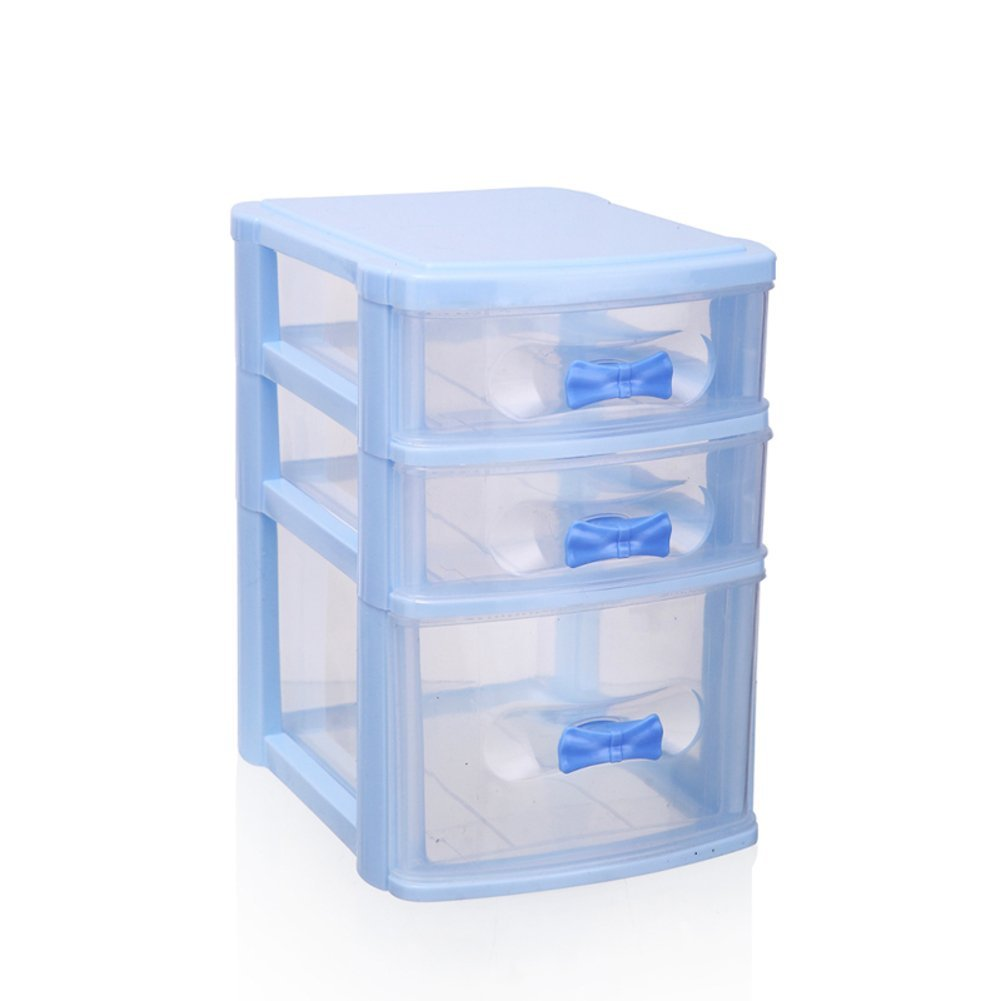 creative makeup storage box/ cabinets and drawer/ plastic lockers-B
