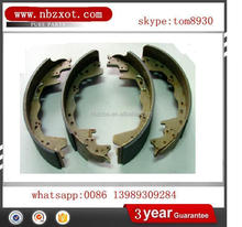 BRAKE SHOE SET BS9988 for auto parts for MAZDA MITSUBISHI TOYOTA CHERY VOLKSWAGEN VOLVO