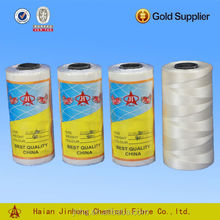 Nylon 6 210D/3-9ply nylon fishing twine for making fishing net