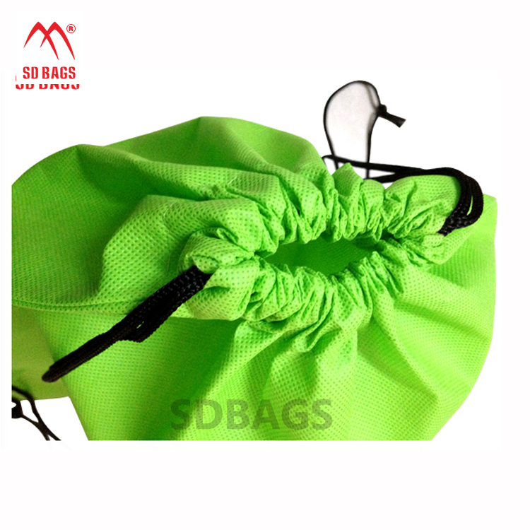 2017 promotional Design fashion style colorful handled non woven bag