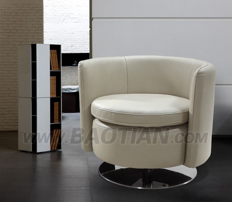 modern furniture leather sofa cafe chair from hotel supplier