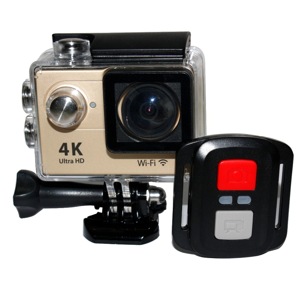 H9R Ultra HD 4K 1080P 12M WiFi 2.4G Remote Control Sport Action Camera Diving Waterproof DV Helmet Video Camcorder DVR