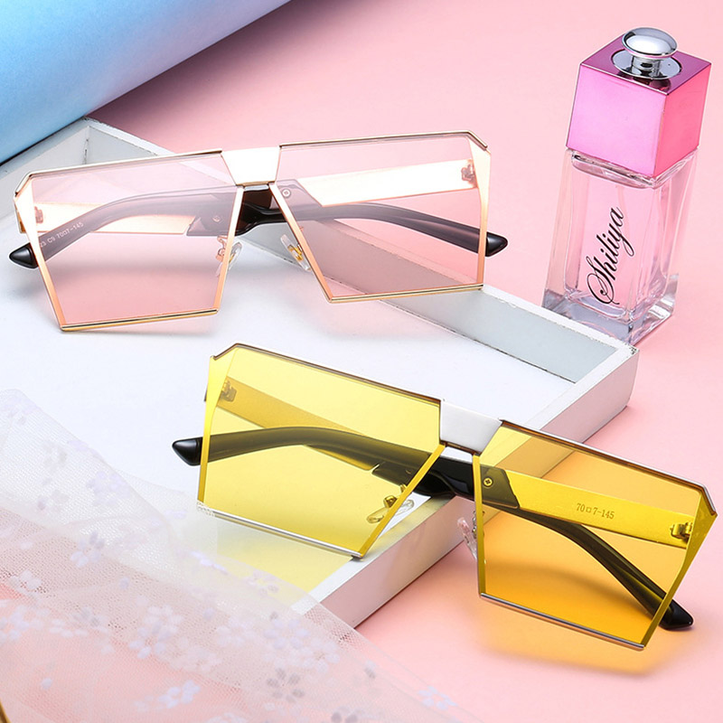 200101 Superhot Eyewear Fashion Square Sunglasses Metal Frame Sun glasses <strong>Shades</strong> <strong>Custom</strong> Brand <strong>Shades</strong>