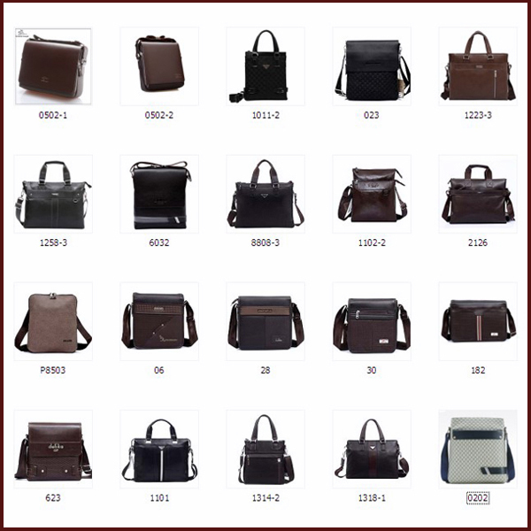 Latest Leather China Laptop Bag For Man Office At Low Price On ...